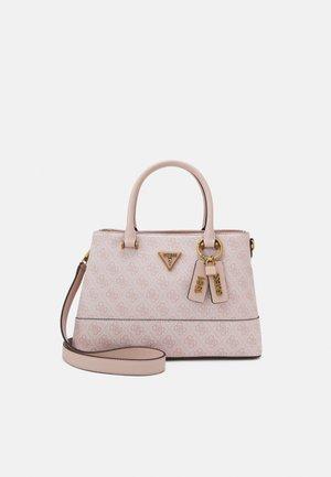 CORDELIA LOGO LUXURY SATCHEL - Handbag - blush
