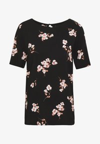 b.young - BYISOLE O NECK BLOUSE  - Bluser - black combi - 4