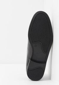 Topman - ARLO - Scarpe senza lacci - black - 4