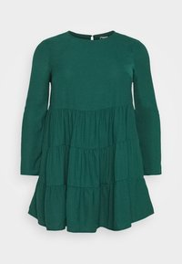 Missguided Plus - TIERED SMOCK DRESS - Day dress - green - 5