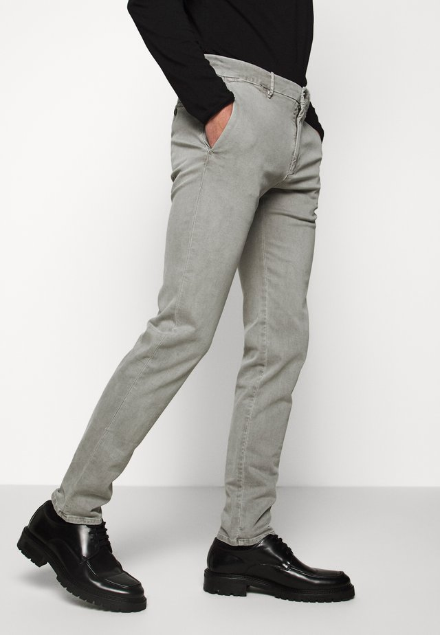 STEEN-STOFFHOSE - Trousers - beige