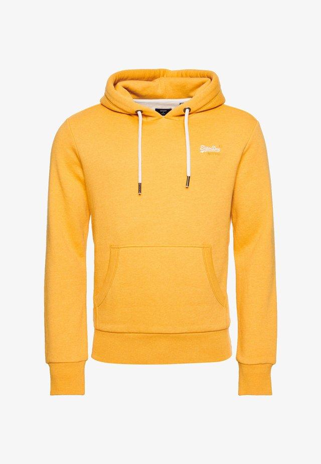 Sweat à capuche - yellow