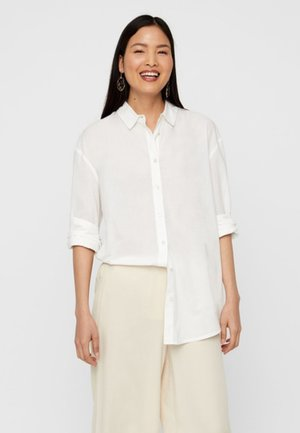 Button-down blouse - snow white