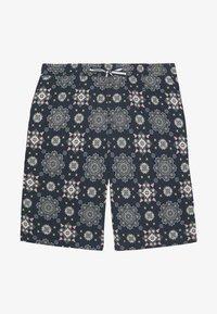 Jack & Jones - JJICASABLANCA JOGGER - Shorts - navy blazer - 0