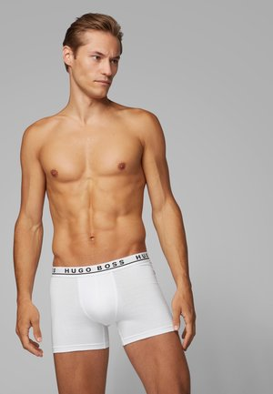 3 PACK - Pants - white