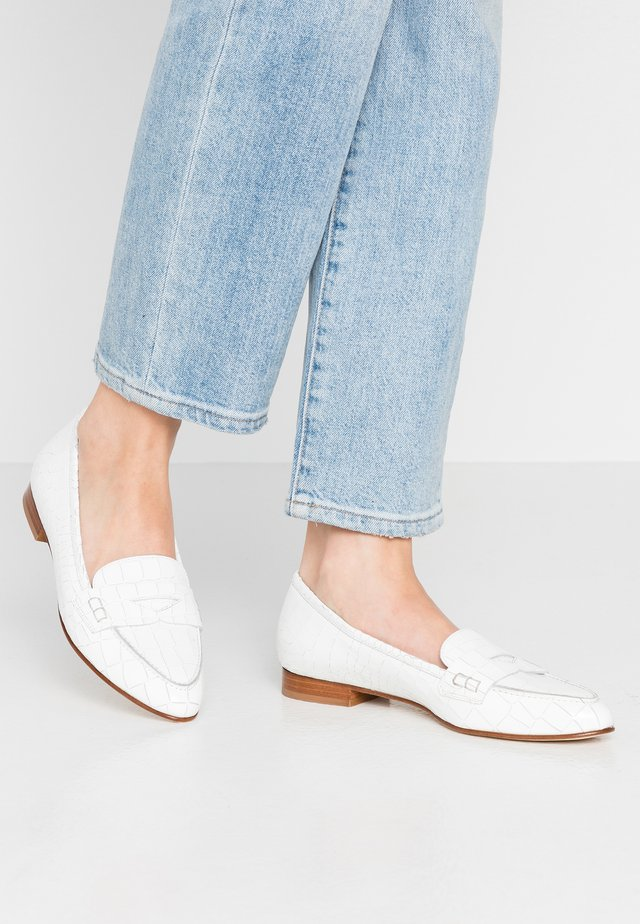 RETAL - Scarpe senza lacci - bianco