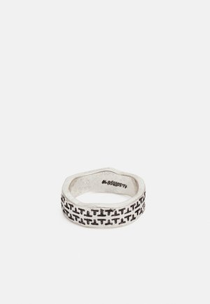 OFF ROAD TRAVELLER PATTERN BAND - Ring - silver-coloured
