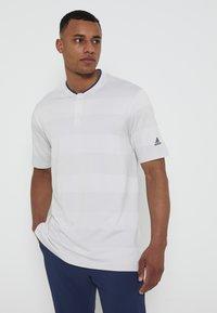 adidas Golf - PRIME - Triko spotiskem - white/grey - 0