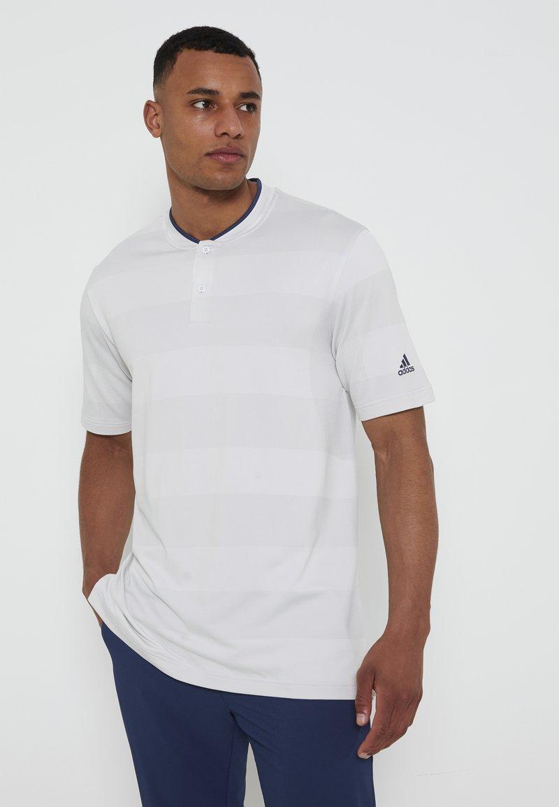 adidas Golf - PRIME - Triko spotiskem - white/grey