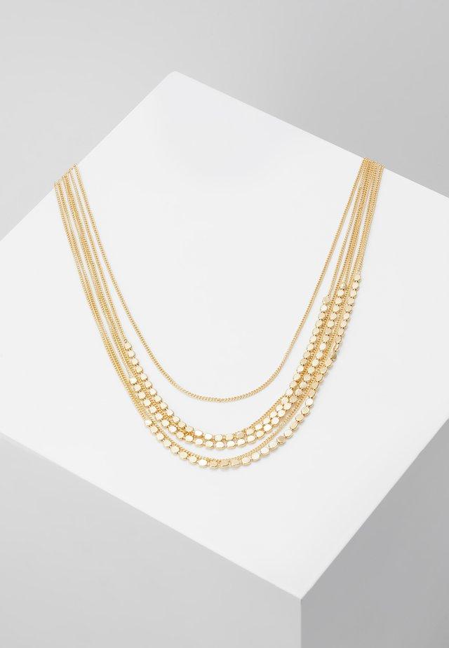 PCJUDITHA COMBI NECKLACE  - Collana - gold-coloured