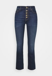 7 for all mankind - THE CROP - Straight leg jeans - dark blue