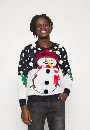 XMAS - Jumper - navy/white