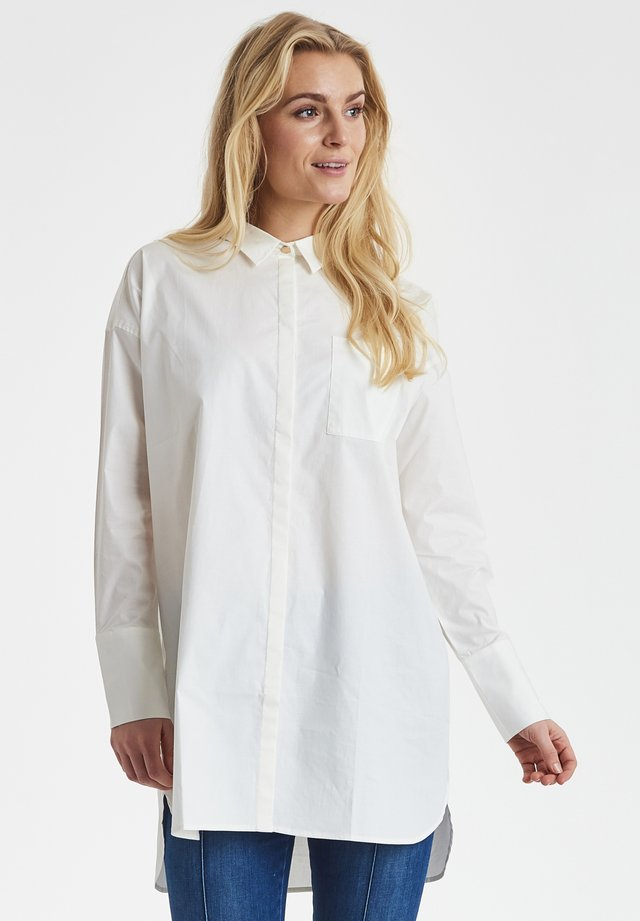 DRHOLLIE - Button-down blouse - white