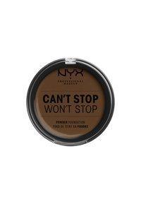 Nyx Professional Makeup - CAN'T STOP WON'T STOP POWDER FOUNDATION - Powder - CSWSPF22PT3 walnut - 1