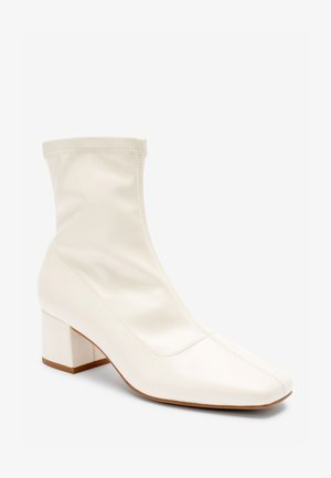 Ankle boots - off-white