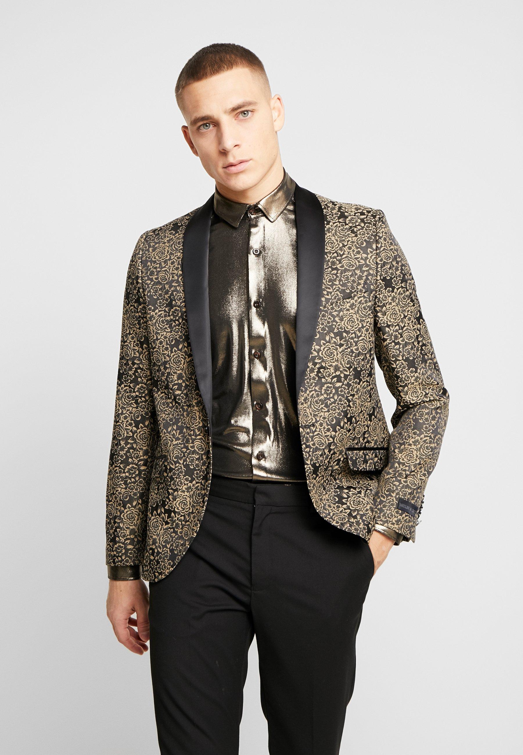 Shelby & Sons WORTHINGTON BLAZER - Chaqueta de traje - black - Ropa de hombre
