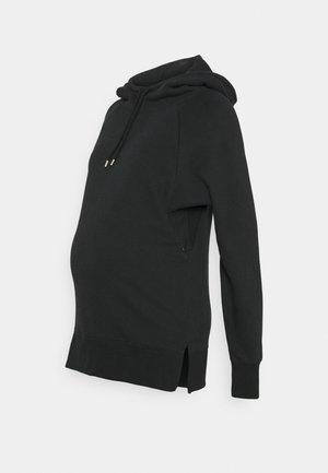 NURSING HOODIE - Jersey con capucha - washed black