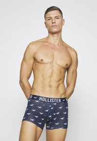 Hollister Co. - 5 PACK  - Boxer shorts - grey/dark blue/black - 4