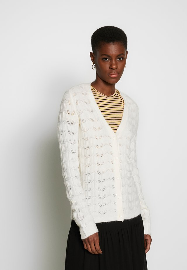 YASJOSLY KNIT TALL - Cardigan - star white
