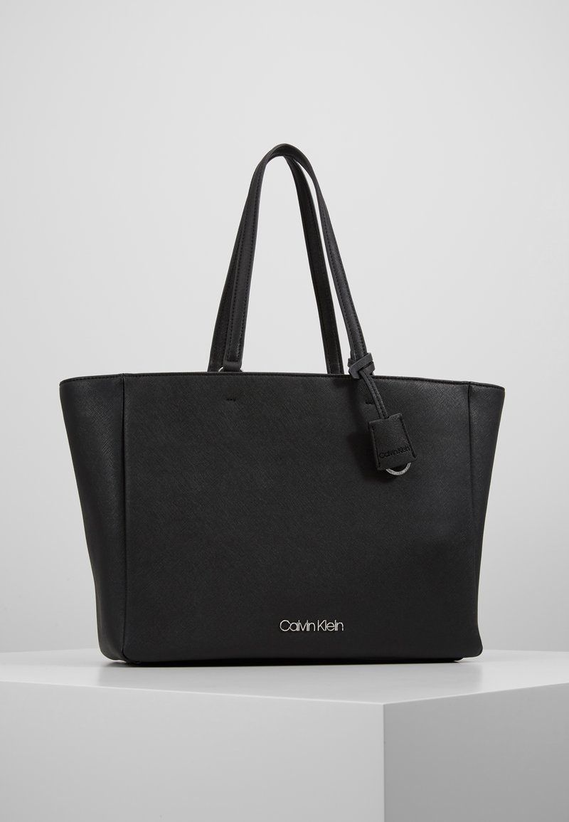 Calvin Klein - TASK - Tote bag - black