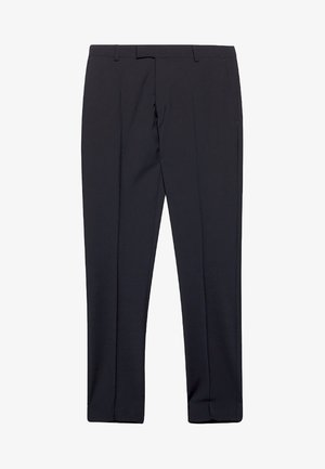 ACTIVE SUIT AUS WOLL-MIX - Suit trousers - black