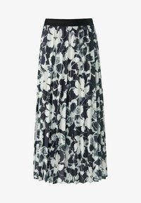 MARGITTES - Pleated skirt - schwarz/weiß - 4