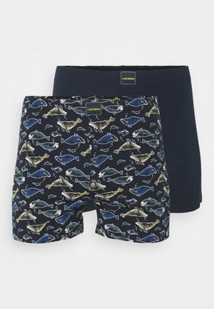 2 PACK - Boxer shorts - blue dark