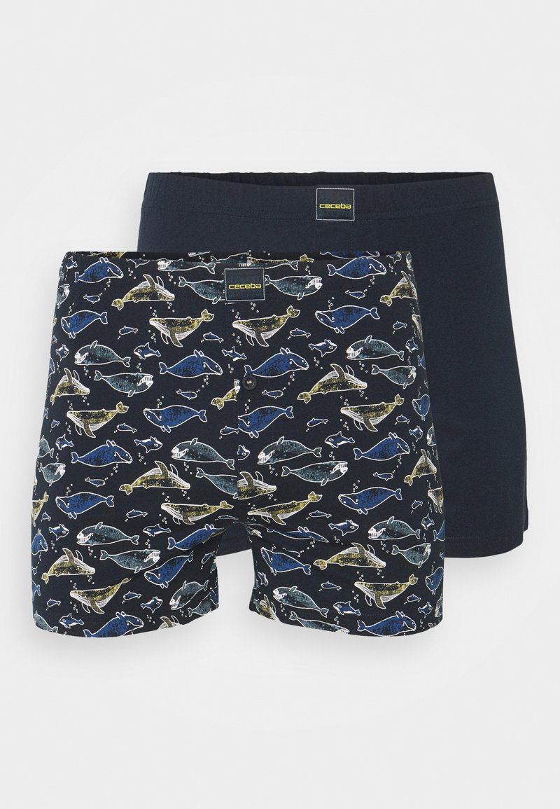 Ceceba - 2 PACK - Boxer shorts - blue dark