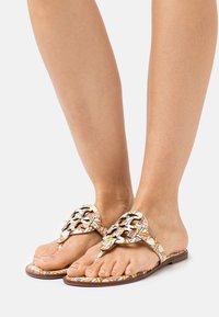 Tory Burch - MILLER WELT - T-bar sandals - pink - 0