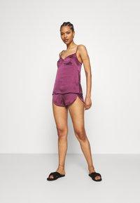 Women Secret - SHORT SET - Pijama - lilacs - 1