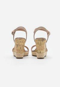 New Look - PERTH  - Sandály na vysokém podpatku - gold - 3