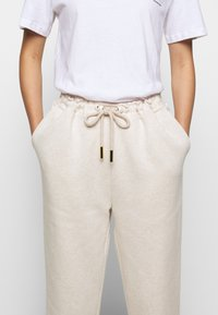 Mother of Pearl - ORGANIC PEARL CORD STOPPER - Tracksuit bottoms - oatmeal - 5