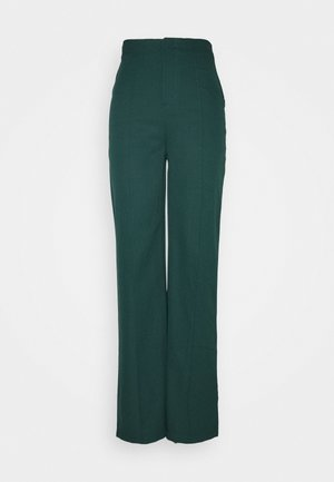 WIDE LEG TROUSER - Bukse - green