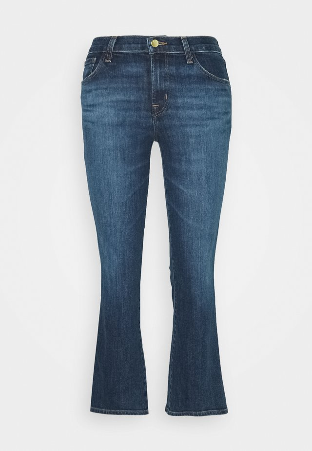 SELENA MID RISE CROP BOOTCUT - Jeans Bootcut - arcade