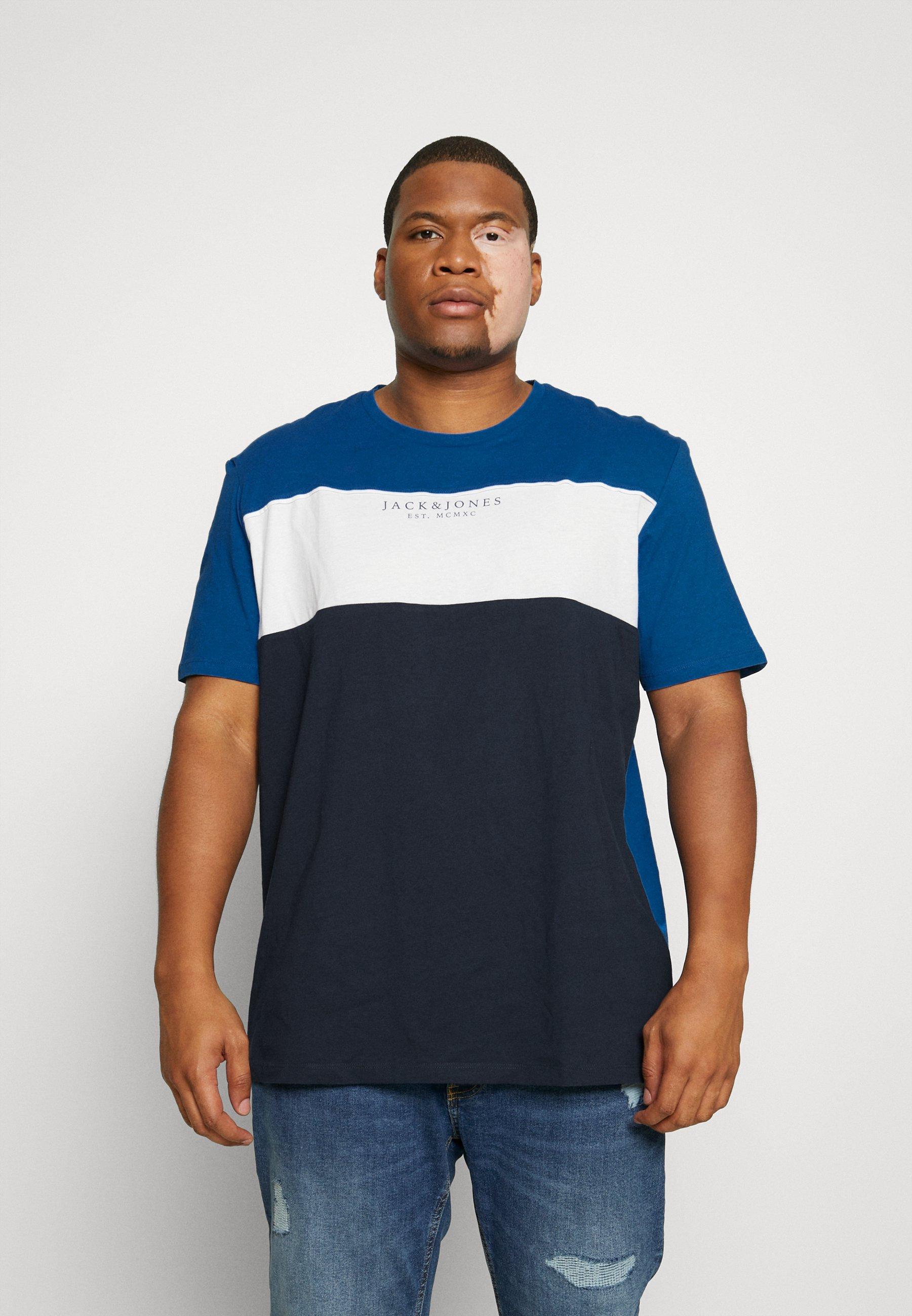 Homme JJMONSE TEE CREW NECK - T-shirt imprimé