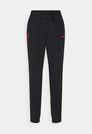 LIVERPOOL FC DRY PANT - Club wear - black heather/black/laser crimson