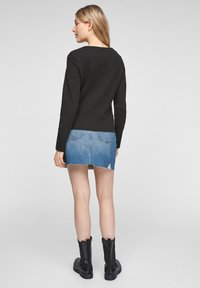 QS by s.Oliver - Cardigan - black - 2