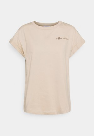 BOYFRIEND SPARKLE  - Print T-shirt - coffee