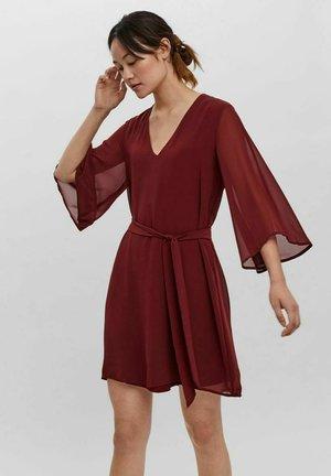 KLEID  - Jersey dress - cabernet
