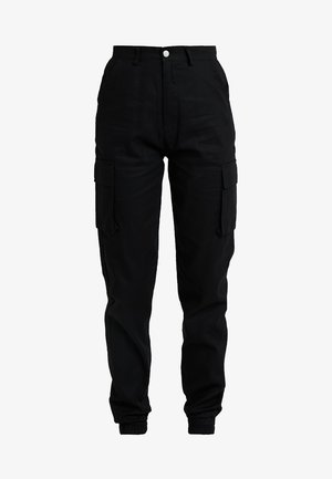 PLAIN TROUSER - Bukse - black