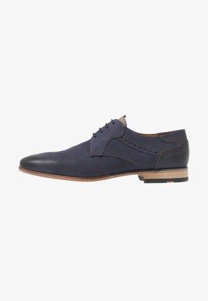 DALTON - Šněrovací boty - ocean/stone