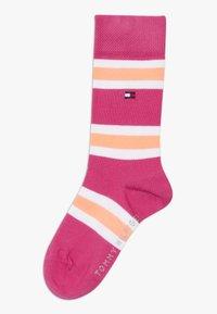 Tommy Hilfiger - KIDS GIFTBOX 3 PACK - Ponožky - light pink - 1
