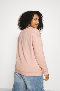 CAPSULE by Simply Be - SLOGAN LOVE - Sweatshirt - blush - 2