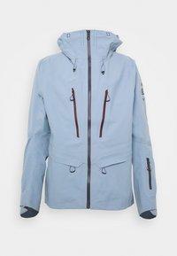 OUTPEAK SHELL - Ski jacket - ashley blue