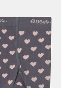 Ewers - HEARTS 2 PACK - Tights - grey/pink - 3