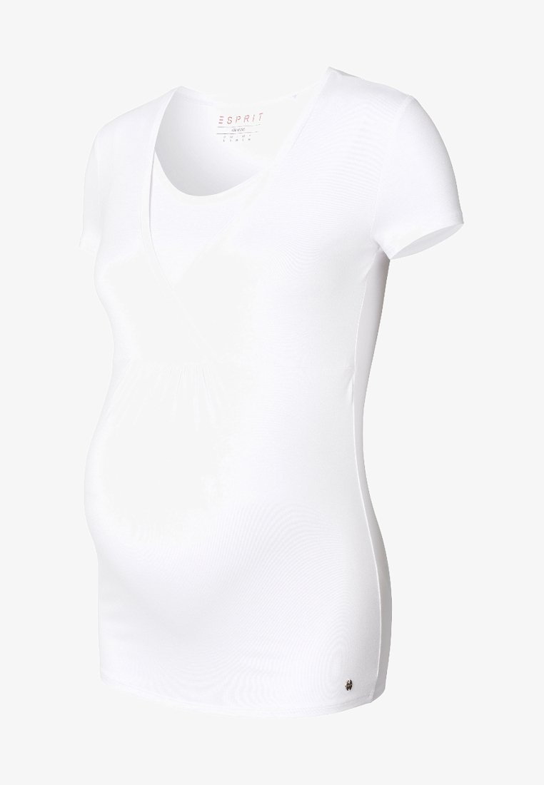 Esprit Maternity - T-shirt basic - white