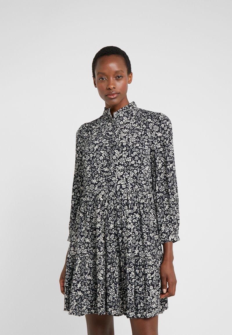J.CREW - HADID DRESS - Freizeitkleid - black/beige