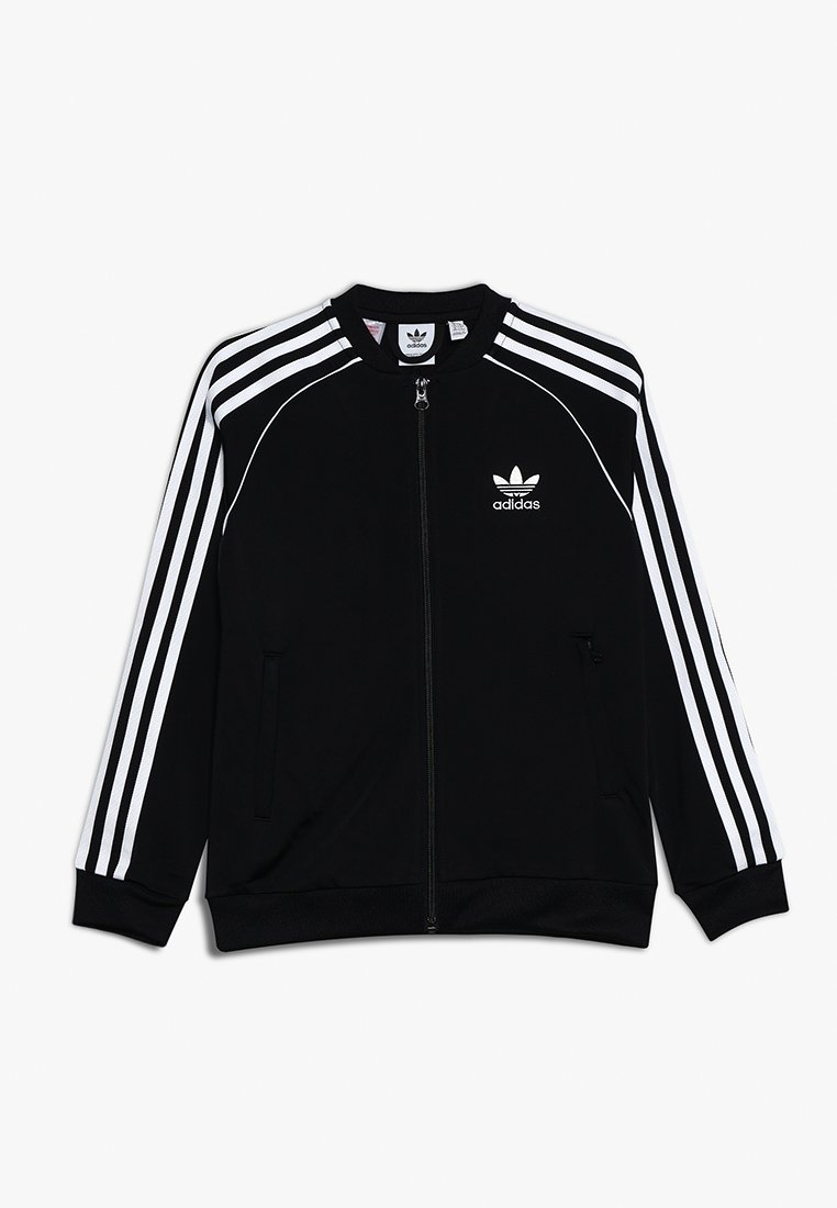 adidas Originals - SUPERSTAR - Veste de survêtement - black/white