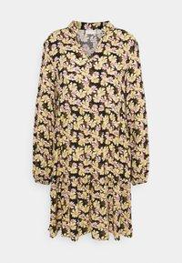 VILANA DRESS - Denní šaty - black/multi