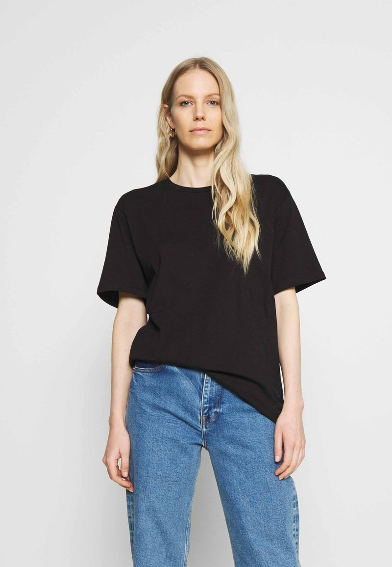 Trendyol - Basic T-shirt - black